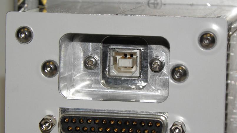 Detail aus einem EMV Anschlussmodul