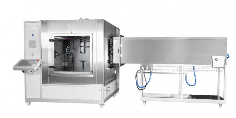 ITS Spritzwasserkammer mit Anbautunnel für IPX5/6