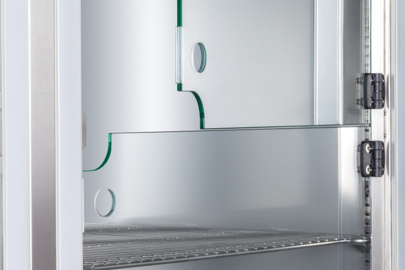 Innenliegende Glastür für Premium Linie