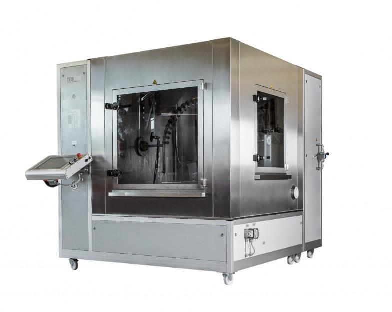 ITS Spritzwasserkammer begehbar