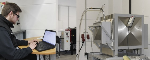 Wärmebehandlung mit Schutzgas und Temperaturaufzeichnung