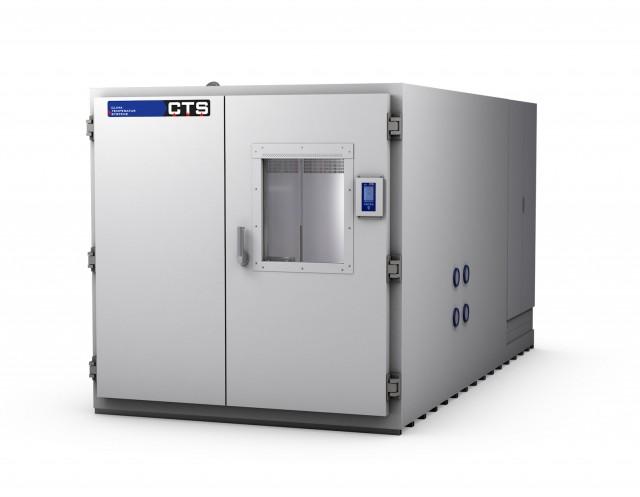 Begehbare oder befahrbare Klimaprüfkammer oder Temperaturprüfkammer