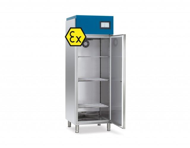 Ex-geschützte Kühlschränke und Wärmeschränke der Safety T-Linie