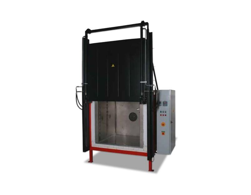 Hochtemperatur Luftumwälz-Großkammeröfen der Serie KNC-H